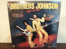 "LP 12"" THE BROTHERS JOHNSON - Right on time - MINT/EX+ - A & M - SP-4644 - US"