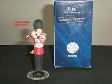 CORGI F07141 ICON SCOTS GUARDS BAND FIFE PLAYER METAL TOY SOLDIER FIGURE