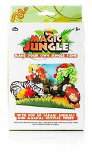 NPW Gifts Magic Grow Your Own Crystal Jungle Scene Craft Kit *CHRISTMAS GIFT SET