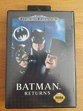 BATMAN RETURNS FOR SEGA MEGA DRIVE (COMPLETE IN BOX)
