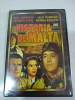 Historia de Malta Alec Guinness Muriel Pavlow - DVD Español Ingles Nuevo