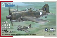 SPECIAL HOBBY SH72128 1/72 Buffalo model 339-23 In RAAF and USAAF colors