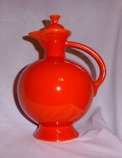 FIESTAWARE CARAFE VINTAGE RADIOACTIVE RED HOMER LAUGHLIN