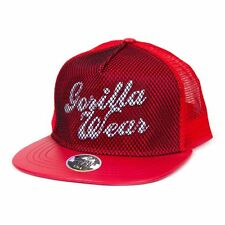 Gorilla Wear Mesh Cap Red