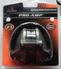 Radians Pro Amp Electronic Earmuffs; Protects Hearing; Nrr 23; Pa0600Cs