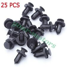 New Replacement Push-Type Retainer Clip Fasteners Clips Plastic Rivet Set of 25