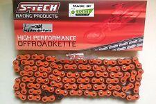 Arancione # super rinforzato catena 520 # KTM 350 EXCF # TECH S ESJOT moto