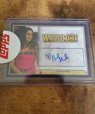 2014 Wwe road to WrestleMania Nikki Bella Auto