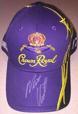 AUTOGRAPHED NASCAR HAT Signed by Matt Kenseth Crown Royal Adjustable CAP