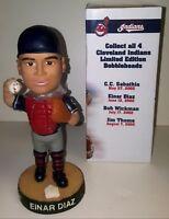 Einar Diaz #22 Bobblehead 6/12/02 Cleveland Indians SGA MLB w/Box - MINT!!!