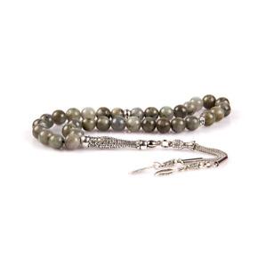 Tesbih, Tasbih, Gebetskette, Edelstein Labradorit, 8 mm, TT-029