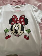 Minnie Mouse Monnalisa Age 10 Girls Top And Leggings Set