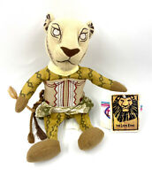 Disney Nala Bean Bag The Lion King Broadway Musical Plush Soft Toy New With Tags
