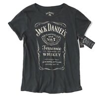 Lucky Brand Women's - NWT$39 Distressed Jack Daniels Whiskey Short Sleeve Tee