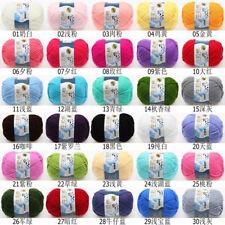 LOT of 1 Ball x 50g NEW Chunky Hand-woven Milk Cotton Knitting Scores wool yarn