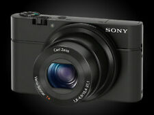 Sony DSC-RX100 Cyber-shot 20.2MP Digital Camera + Wireless Transfer SD Card