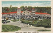 Postcard Summit Hotel Mount Summit Uniontown Pa