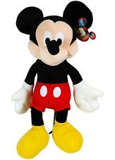 "Disney 15"" Mickey Mouse Soft Plush For Kids Or Adult"