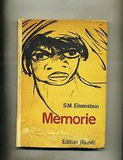 S. M. Eisenstein # MEMORIE # Editori Riuniti 1961