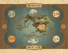 """Avatar: The Last Airbender """"Nation Maps"""" Poster"""