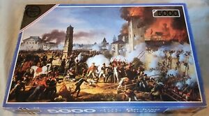 ■VINTAGE■ Falcon 5000pc Jigsaw Puzzle The Attack and Taking of Ratisbon No. 3154