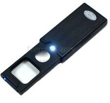 5X - 45X DEL Bijoutier Loupe Verre Optique Loupe + UV Lights Loupe Outil