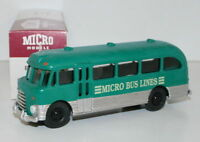 MICRO MODELS MM508 - BEDFORD SB BUS - MICRO BUS LINES - GREEN