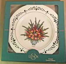 Lenox 1995 Colonial Bouquet Virginia Annual Plate, Limited Edition, In Box
