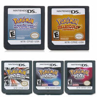 3DS XL NDS Lite HeartGold SoulSiIver EU Ver in English Game Card For Nintendo