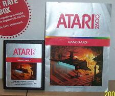 ATARI 2600 VANGUARD vintage game Cart w manual