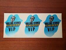 Rolling Stones Steel Wheels Japan Tour 1990 Tokyo Dome Vip Backstage Pass Set
