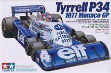 TAMIYA TYRRELL P34 1977 MONACO GP - KIT MONTAGGIO 1/20 - ITEM 20053