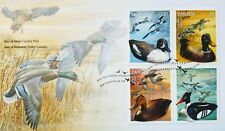 Canada Stamps, First Day Cover, Duck Decoys - 3/8/2006