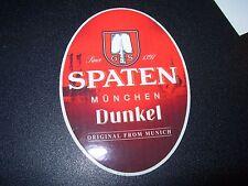Spaten-Franziskaner-Bräu Spaten Dunkel STICKER decal craft beer brewing brewery