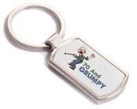 70th Birthday Funny Gift Present Idea For Him Male Men Friend Happy 70  Key Ring