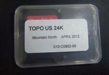 GARMIN TOPO US 24K - Mountain North MAP Micro sd card * ID,MT,WY