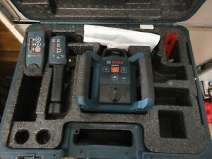 bosch grl250hv professional 1000ft self leveling rotary laser level with remote