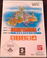 FAMILY TRAINER GAME FOR NINTENDO WII