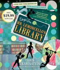 Escape from Mr. Lemoncello's Library by Chris Grabenstein (2013, CD)