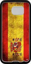 funda carcasa samsung galaxy S6 edge, bandera espana