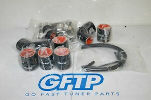 08-14 SUBARU WRX STI ETS FRONT MOUNT INTERCOOLER COMPLETE COUPLERS AND CLAMPS