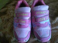 lotto 861 scarpe da ginnastica bimba bambina bianche erosa n.33