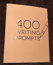 "400 WRITING  PROMPTS NEW BOOK - MINTY FRESH!!! Piccadilly - ""Like 300 Prompts"""