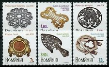 Romania 2019 MNH Museums Collections Plateaus Trivets 6v Set Artefacts Stamps