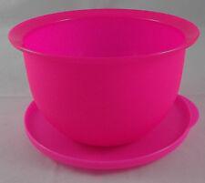 Tupperware J 50 Junge Welle 1,3 l Schüssel m. Deckel Neonpink Neon Pink Rosa Neu