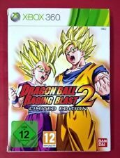 Dragon Ball Raging Blast 2 Limited Edition - XBOX 360 - USADO - MUY BUEN ESTADO