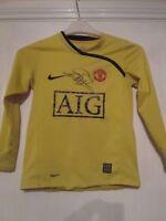 Manchester United 2009-2010 Signed Van Der Sar Football Shirt & COA  /43310