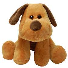 Teddy & Friends Smooch Velboa Dog [25cm] Soft Plush Toy - Brown NEW