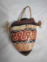 60er 70er Vase Wandvase Keramik  60s 70s Dekoration  mid Century Vintage