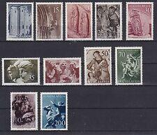 Postfrische Briefmarken aus Jugoslawien mit Kunst-Motiv